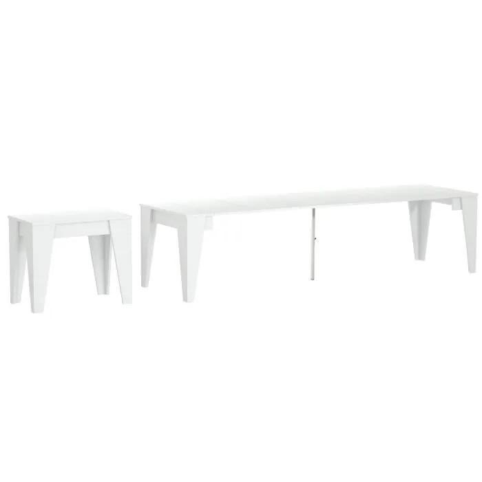 table haute avec rallonge