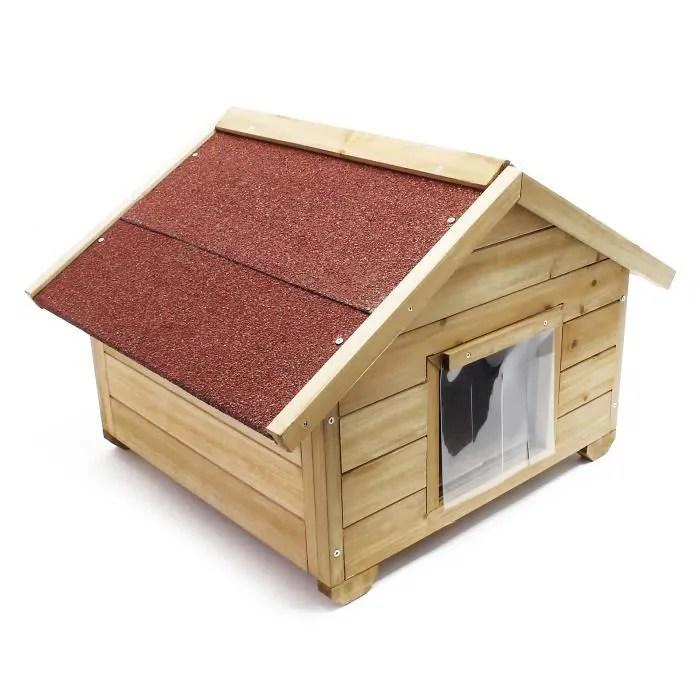 niche de chat avec isolation avec porte