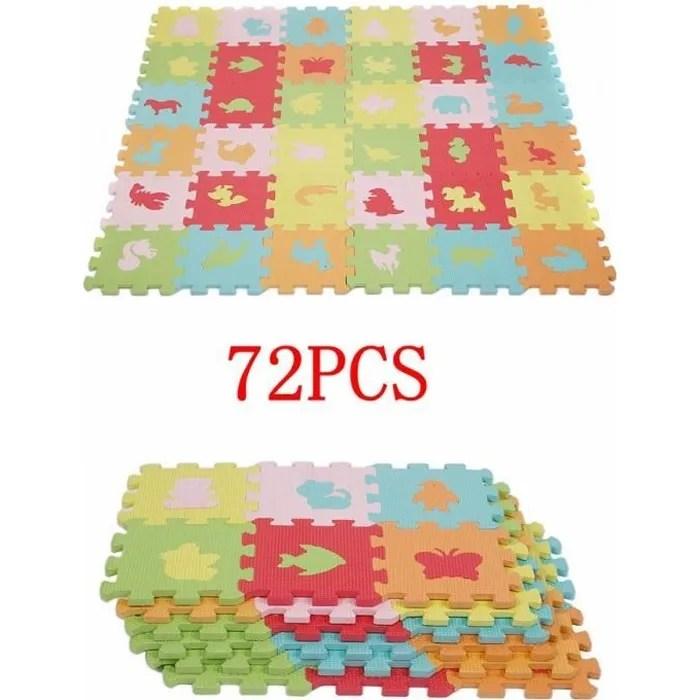 kit de 2 36pcs 36pcs 16 16cm tapis mousse puzzle