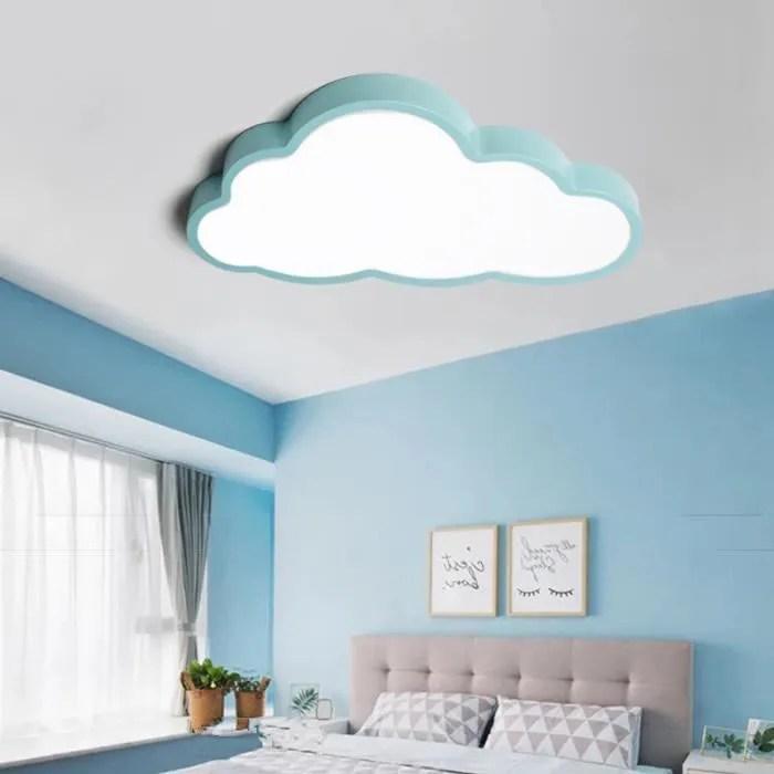 plafonnier led chambre enfant 36w nuage lampe de p