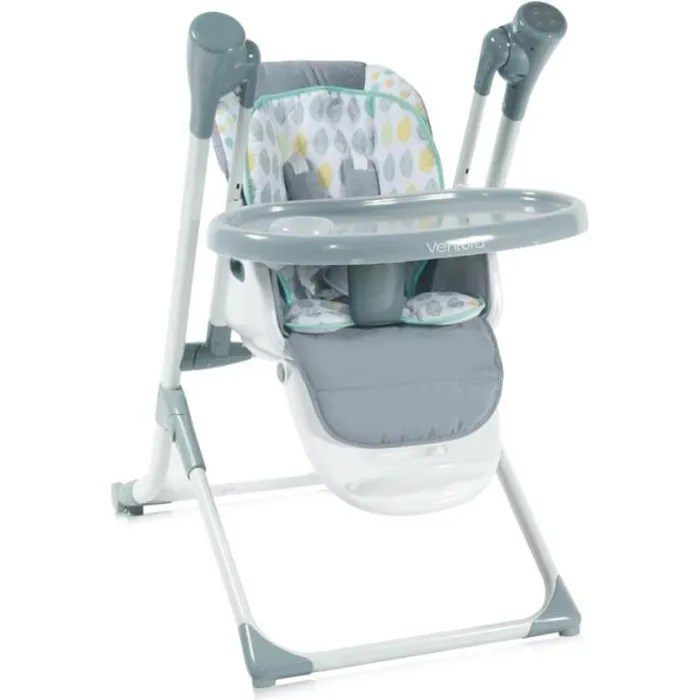 chaise haute evolutive balancelle ventura gris