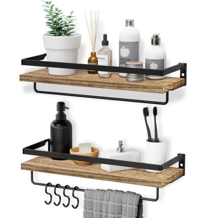 etagere murale en bois homemaxs etagere flottante support de rangement mural pour chambre salon cuisine bureau