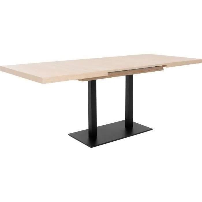 table a manger en bois avec rallonge