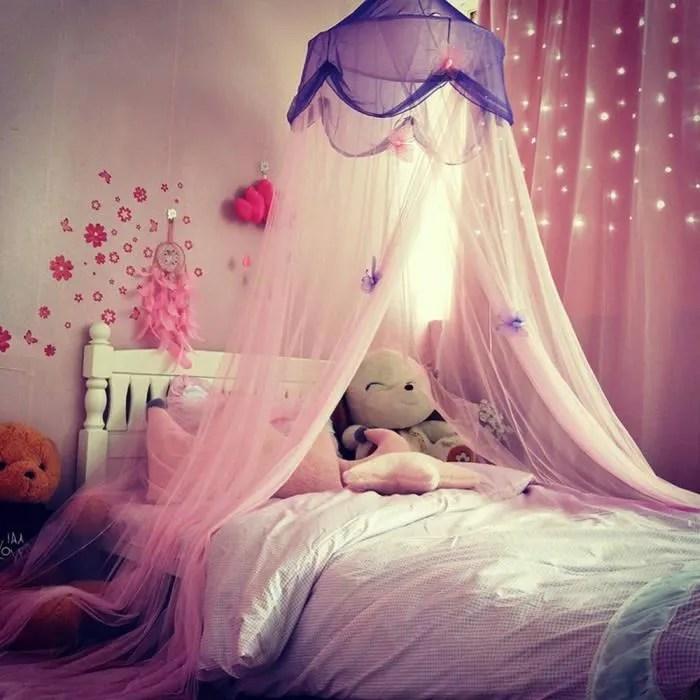 1pcs enfants princesse lit couvert de toit suspend
