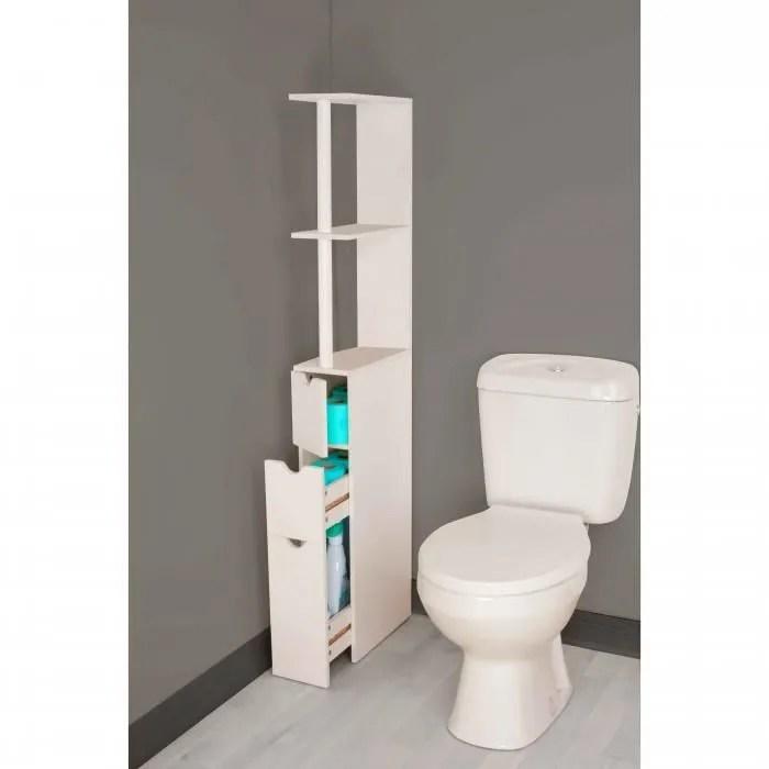 meuble wc coulissant fonction gain de
