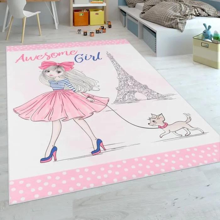 tapis pour enfants tissage plat pour chambre d en