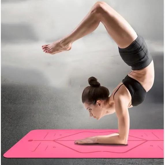 https www cdiscount com le sport fitness musculation yoga tapis de yoga antiderapant en caoutchouc naturel f 121041702 zge8392020384935 html