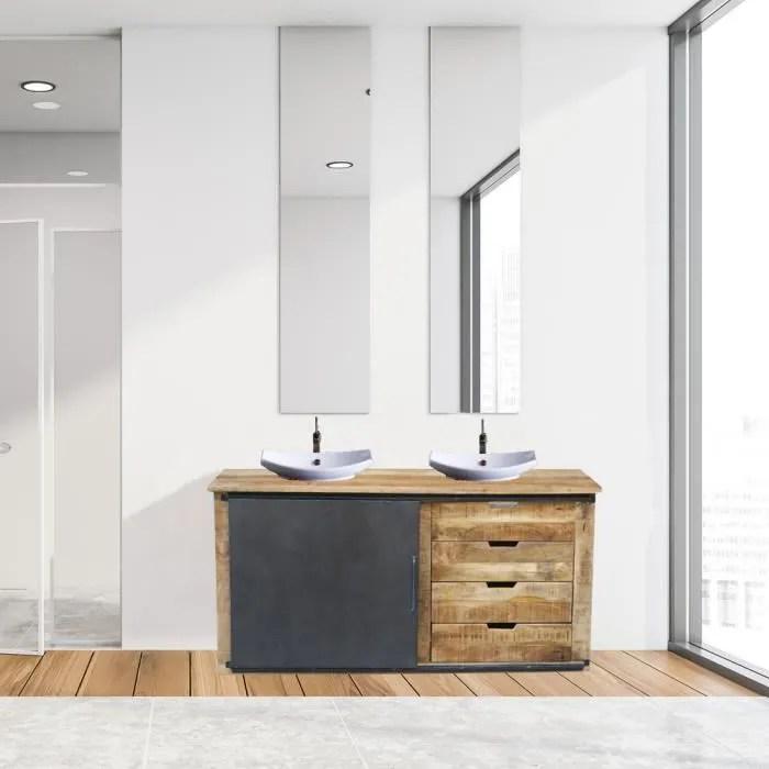 meuble de salle de bain portes