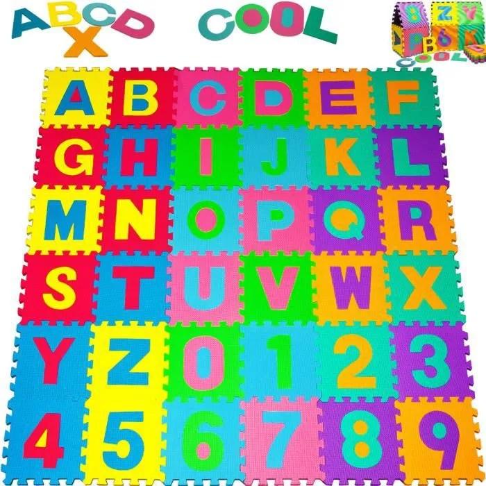 tapis puzzle en mousse eva multicolore 86 pieces 3
