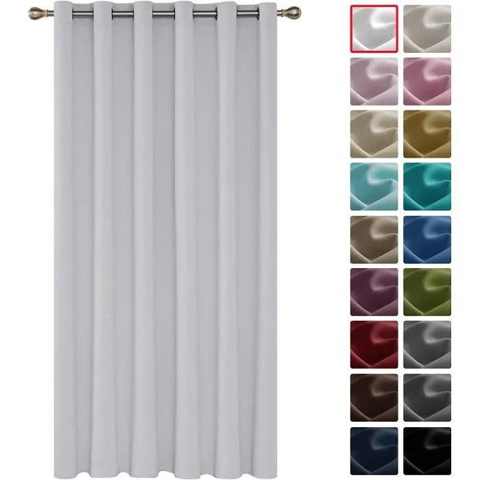 rideau occultant isolant thermique rideau blanc a