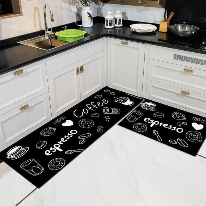 tapis cuisine lavable