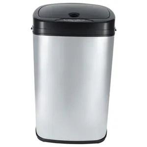 poubelle cuisine retro 50l