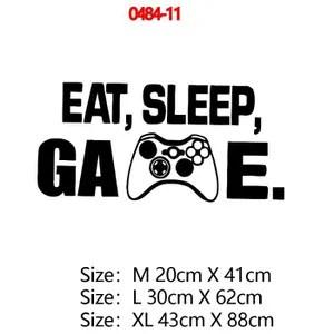 stickers muraux gamer