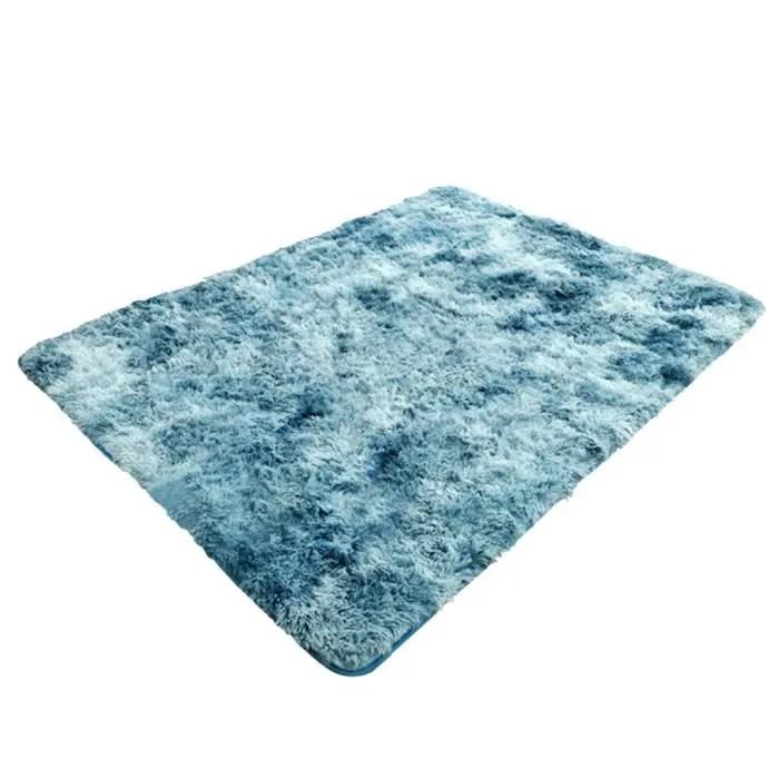 tapis chambre a coucher du salon bleu paon 80 1