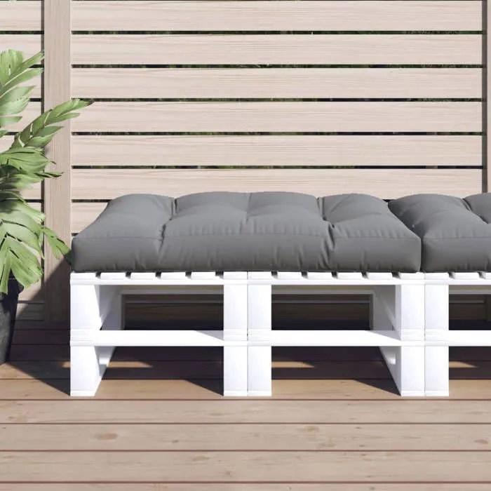coussin d assise rembourre gris 120 x 80 x 10 cm