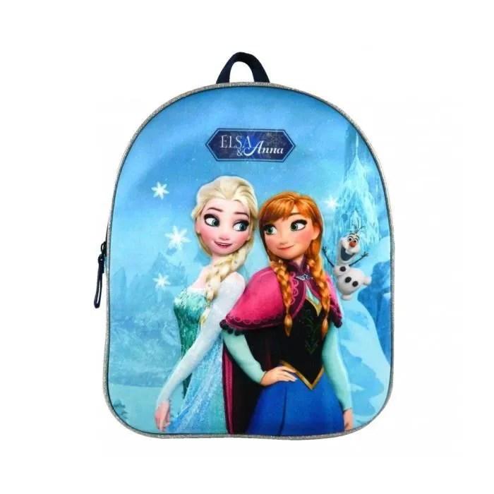 sac a dos reine des neiges maternelle