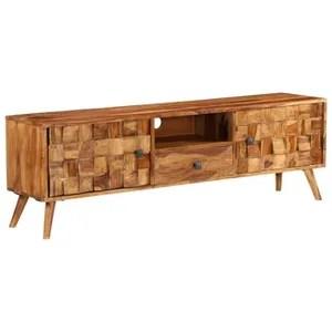meuble tv vintage cdiscount maison