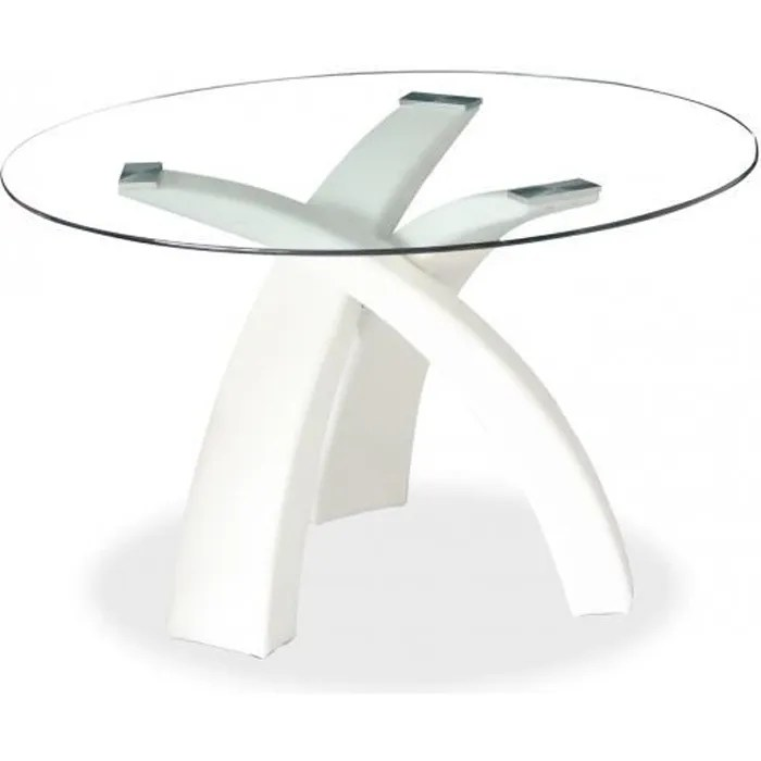 table a manger ronde blanche gore