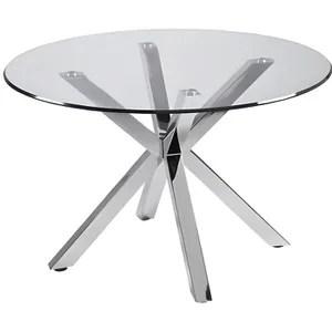 table ronde verre 120 cm