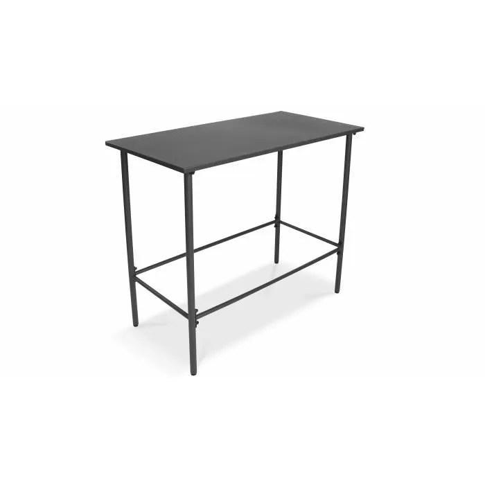 table haute d interieure et exterieure en metal