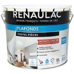 peinture blanc acrylique 10l