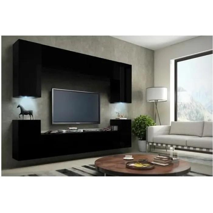 meuble de salon meuble tv complet suspendu concep
