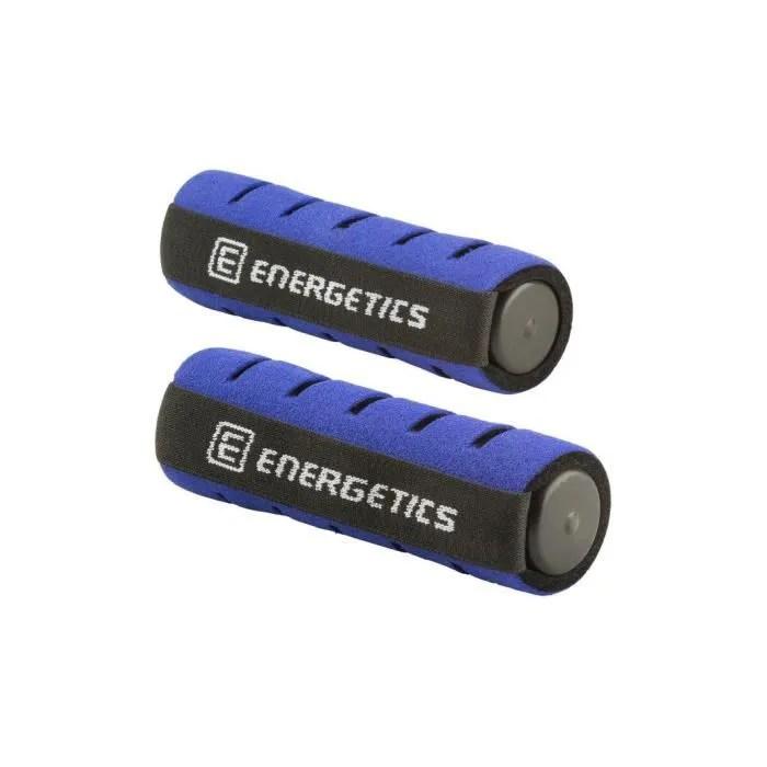 Energetics Halteres Soft Avec Dragonne Taille Unique Noir Bleu Prix Pas Cher Cdiscount
