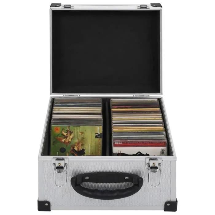 etui de cd meuble range cd pour 40 cd