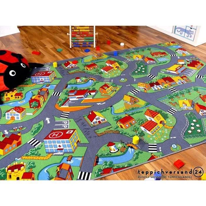 tapis de jeu pour enfant little village motifs vil