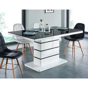 table a manger ronde carree