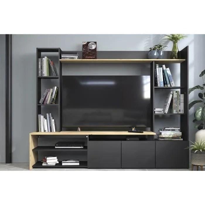 meuble tv avec placard