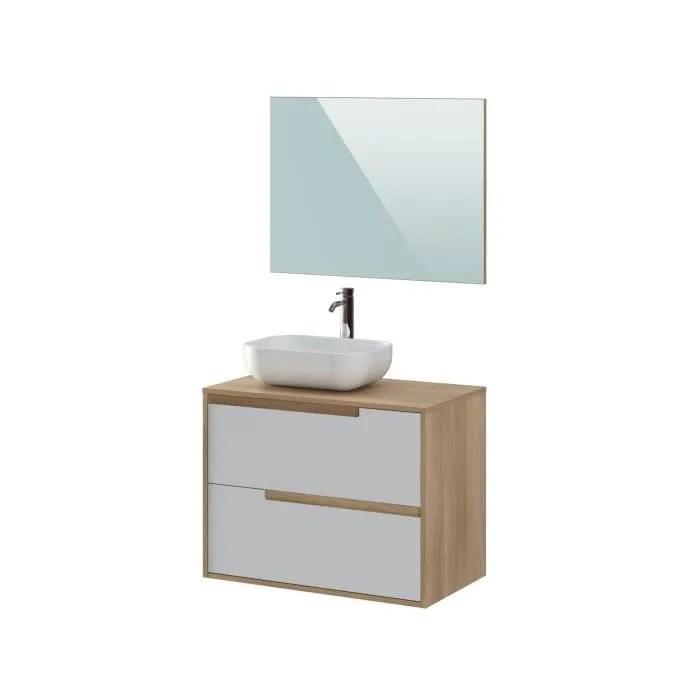 meuble salle de bain banc