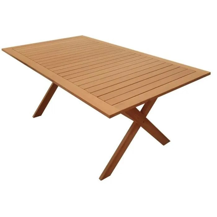 table de jardin marron achat vente