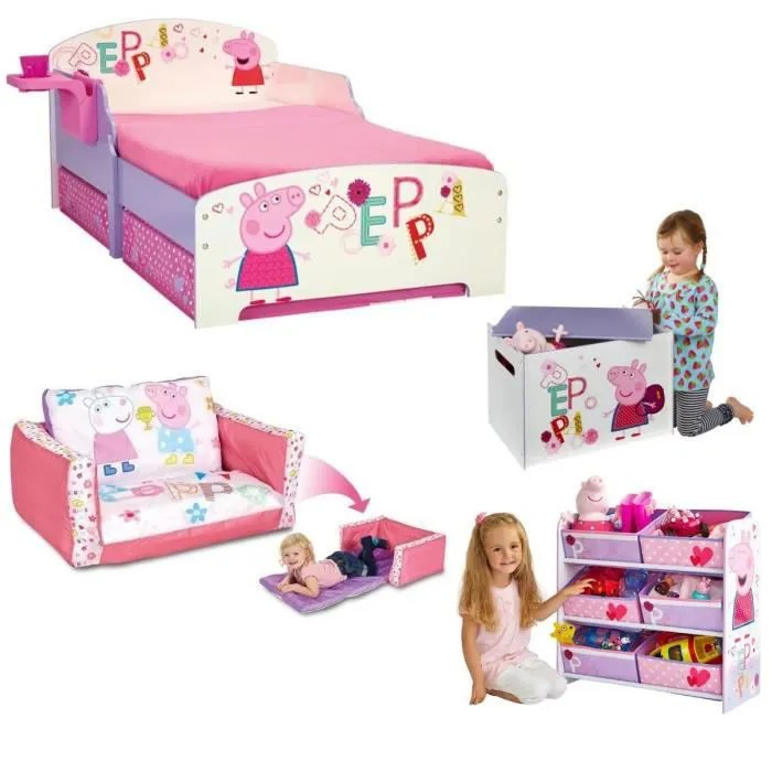peppa pig pack mobilier pour chambre
