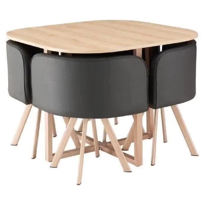 ensemble table et chaise encastrable