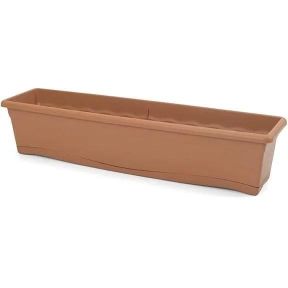 plastiken jardiniere rectangulaire o 80 x 20 cm av