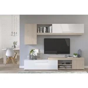 meuble tv mural cdiscount maison