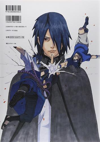 Uchiha Sasuke, 3rd naruto artbook,