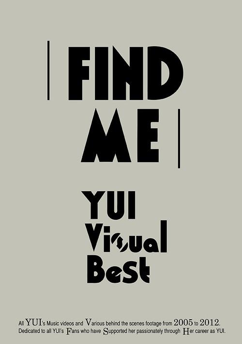 FIND ME YUI Visual Best [Regular Edition]