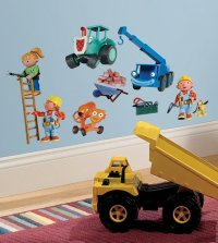 Bob the Builder RoomMates Wall Decals & Wall Stickers
