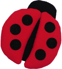 Ladybug (Mini) Fabric Wall Art