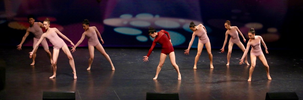 Contemporary dance group