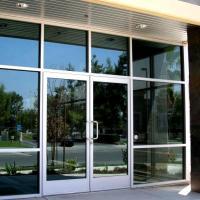 Glass and Aluminum Doors