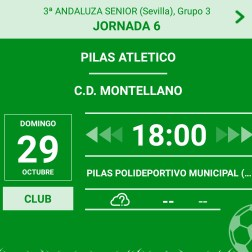 Pilas Atletico - CD Montellano