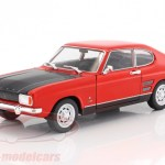 Welly 1 24 Ford Capri Rs Year 1969 Red Black 24069 Model Car 24069 4891761240691