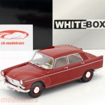 Whitebox 1 24 Peugeot 404 Year 1960 Red Wb124024 Model Car Wb124024 4052176658482