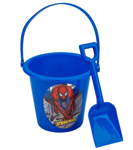 upd spiderman sand bucket