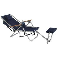 Reclining Beach Chair With Footrest Baby Bumbo Wet Products Wearever Backpack Lounger At Swimoutlet Com Free Shipping