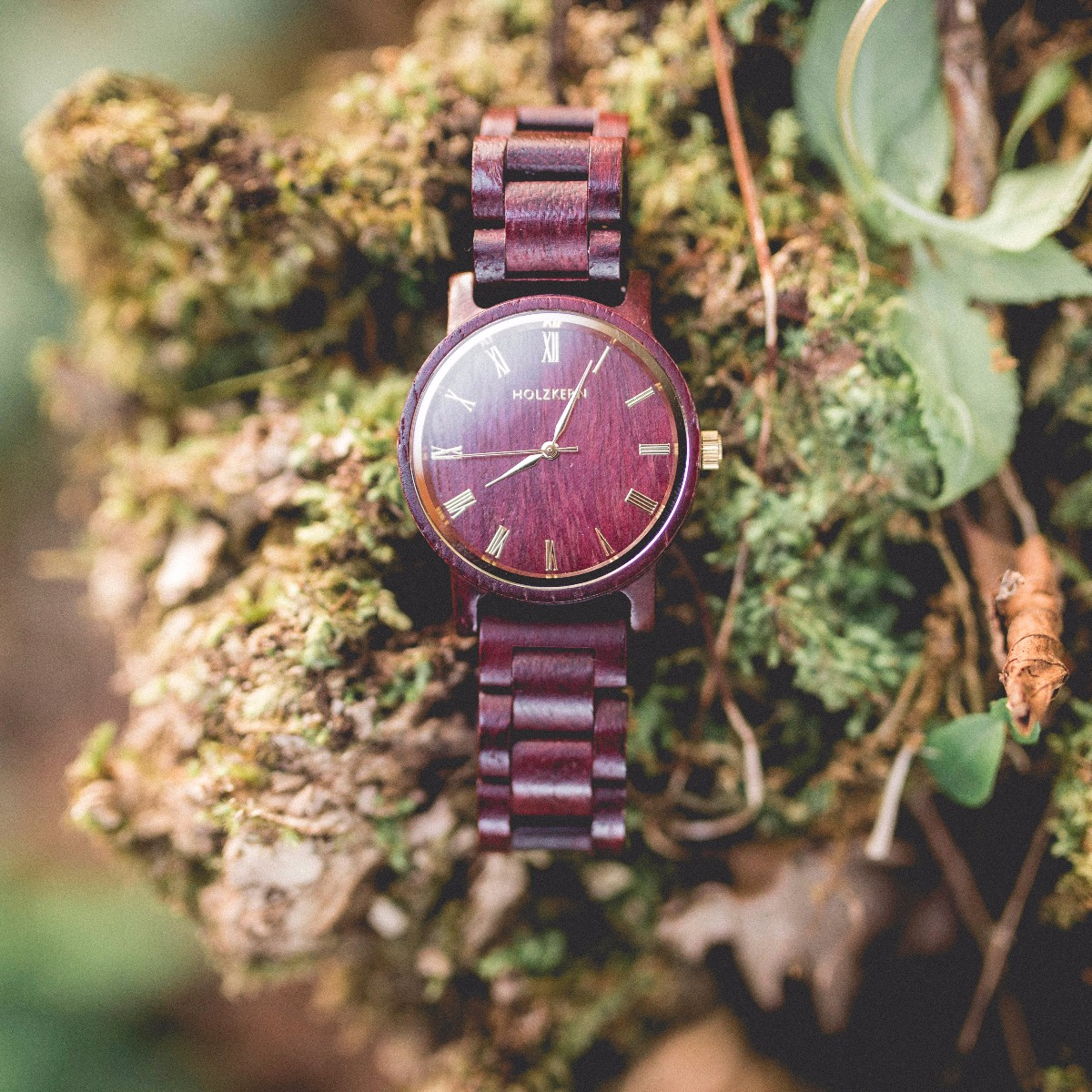 Calm AmaranthAmaranth  Holzkern Wood Watches