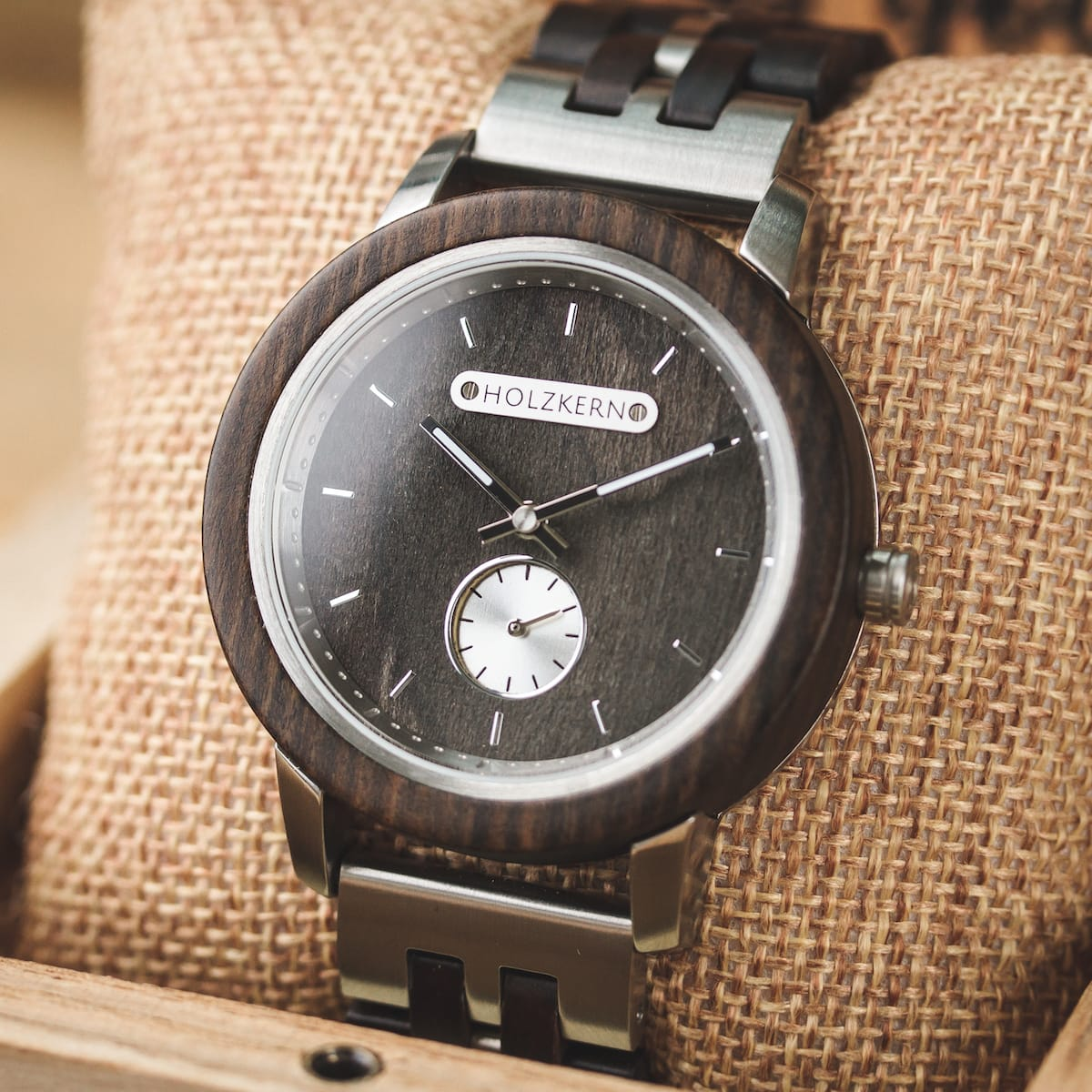 Holzkern Wood Watches  Pompeii LeadwoodLeadwood